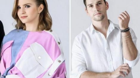 Colaj foto: Cristina Ciobănașu în stânga, Vlad Gherman în drepta