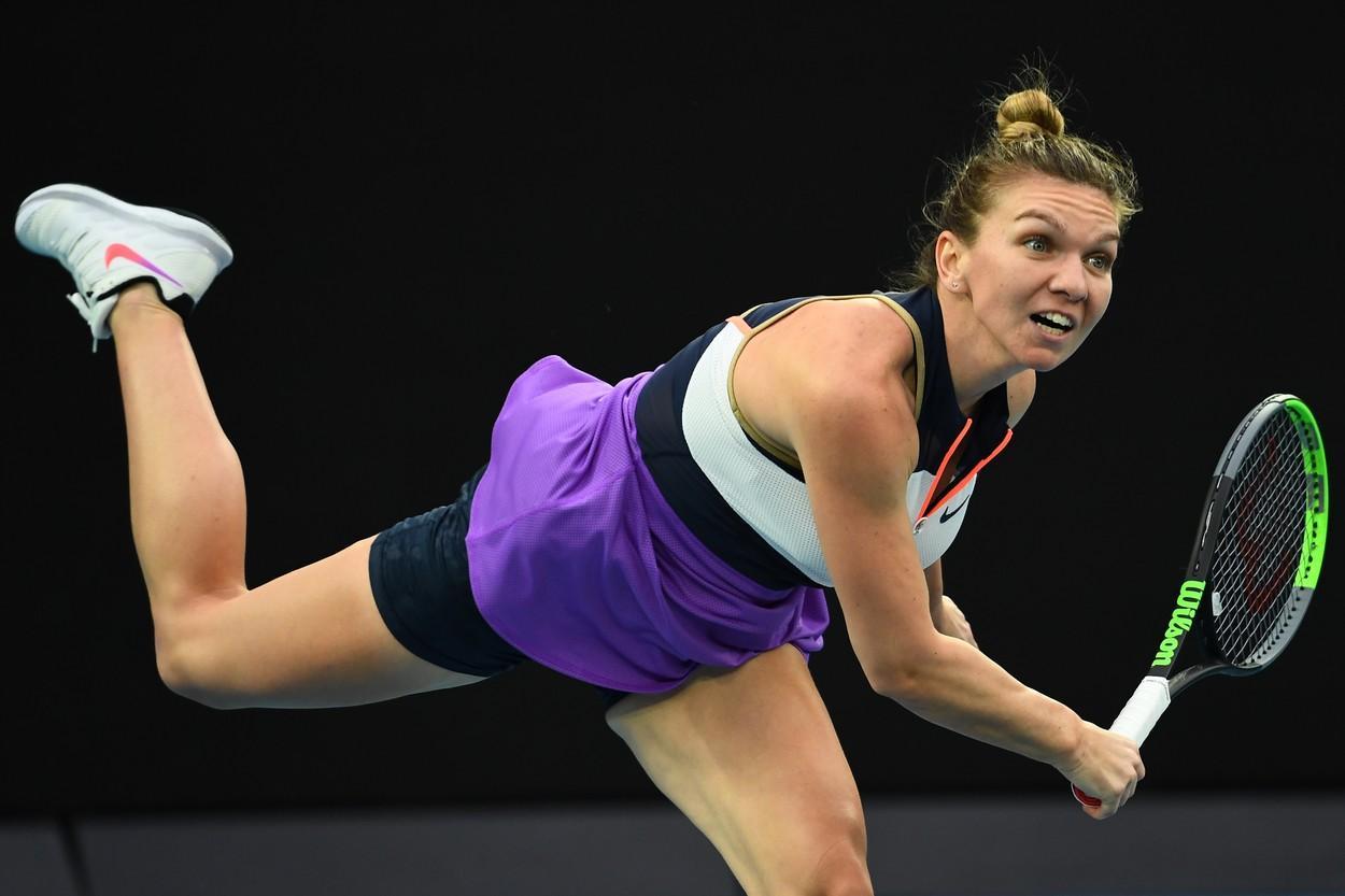 Simona Halep - Ajla Tomljanovic la Australian Open 2021. Simona a câștigat meciul, scor 4-6, 6-4, 7-5