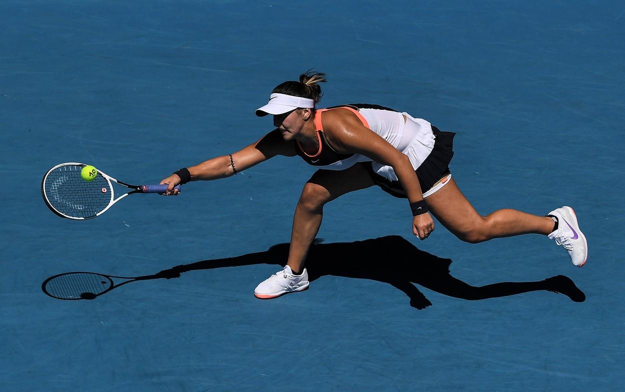 Australian Open 2021. Bianca Andreescu, înfrângere dureroasă în turul al doilea. Românca a fost eliminată de jucătoarea din Taiwan