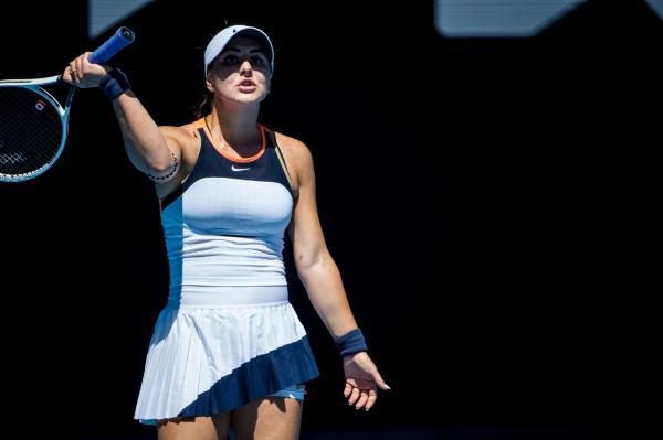 Bianca Andreescu la Australian Open 2021