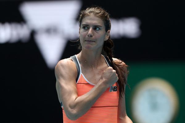 Sorana Cîrstea la Austalian Open 2021 împotriva Petrei Kvitova
