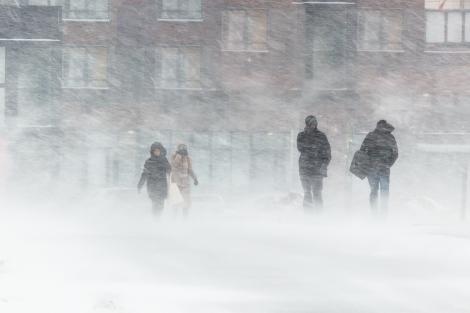 Vremea ANM. Ninsori abundente, viscol, polei și ger în toată România. Temperaturile scad brusc cu 15 grade