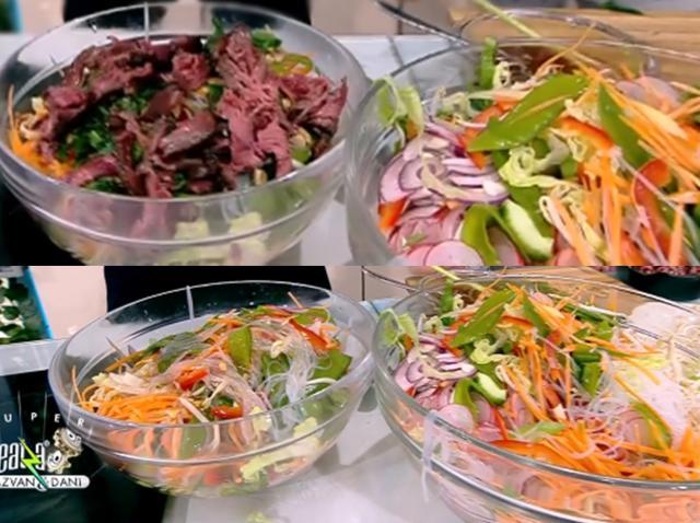 Ingrediente pentru rețeta de salată asiatică