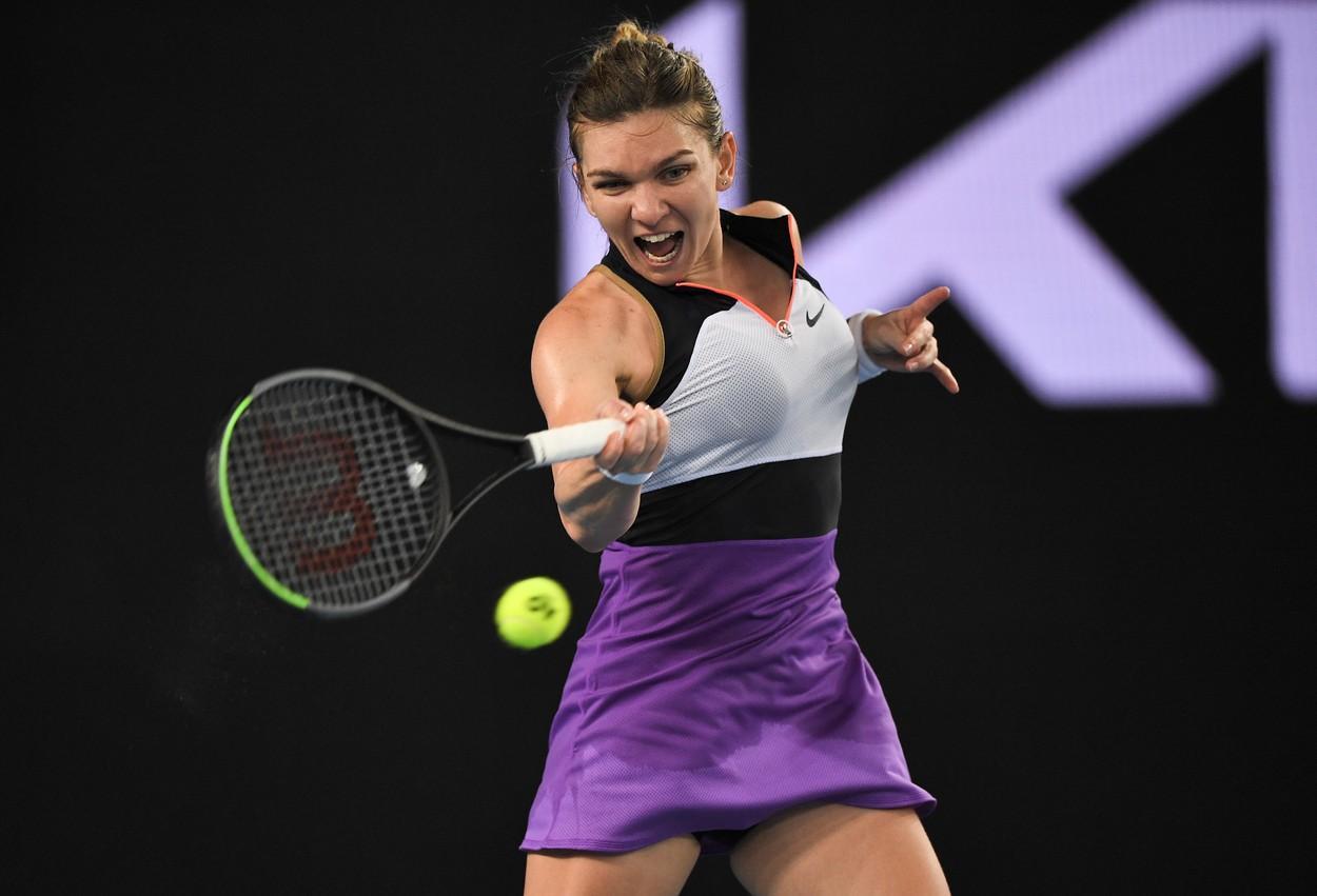 Australian Open 2021. Ce s-a scris despre Simona Halep după victoria colosală în fața Ajla Tomljanovic. Adversara este la pământ