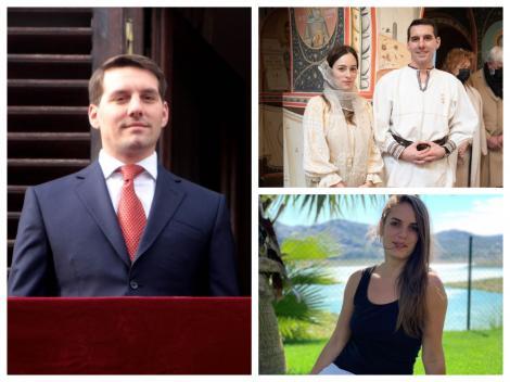 Colaj cu fostul Principe Nicolae, soția lui Alina și mama fiicei sale mai mari Nicoleta Cîrjan