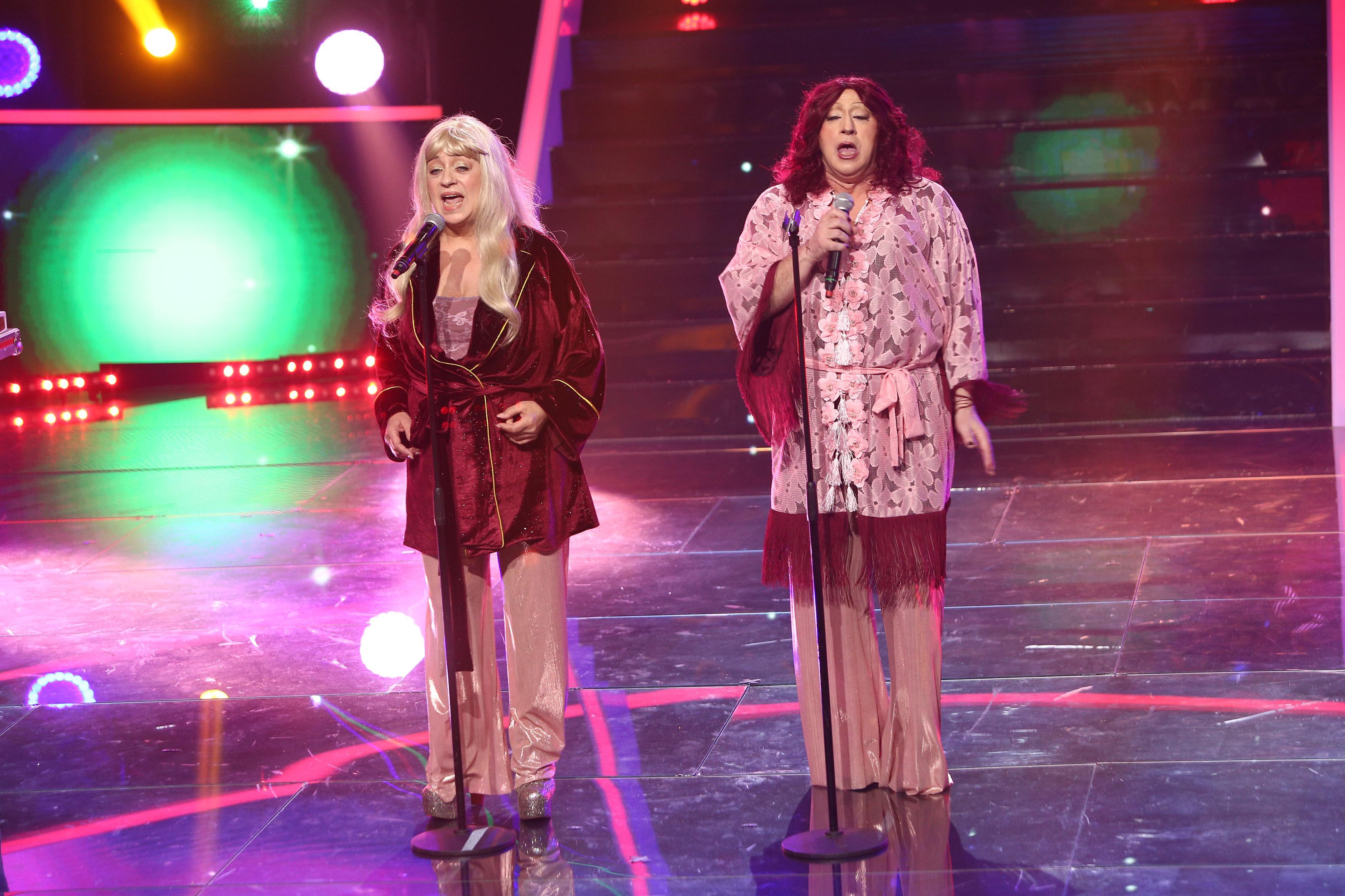 Te cunosc de undeva, 13 februarie 2021. Adriana Trandafir și Romică Țociu, artiștii de excepție transformați în ABBA