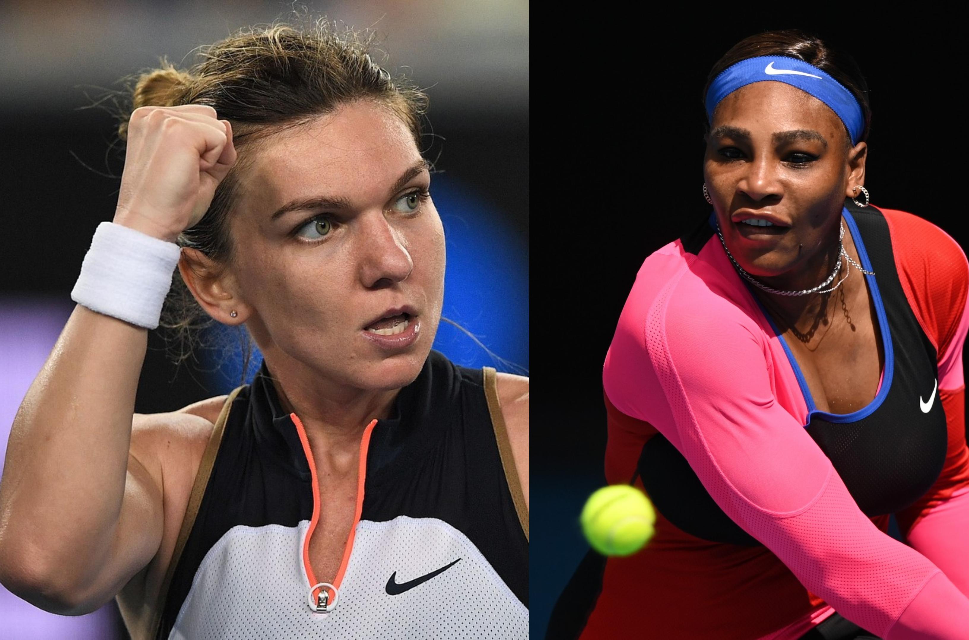Australian Open 2021. Simona Halep împotriva Serenei Williams. Când se joacă meciul de tenis între cele două sportive