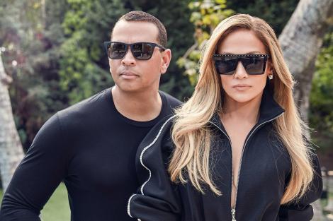 Jennifer Lopez și Alex Rodriguez