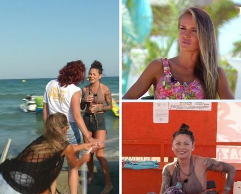 colaj foto cu Sandy Medini, Diana Munteanu și Roxana Vancea, la Poftiți la circ de la Antena 1