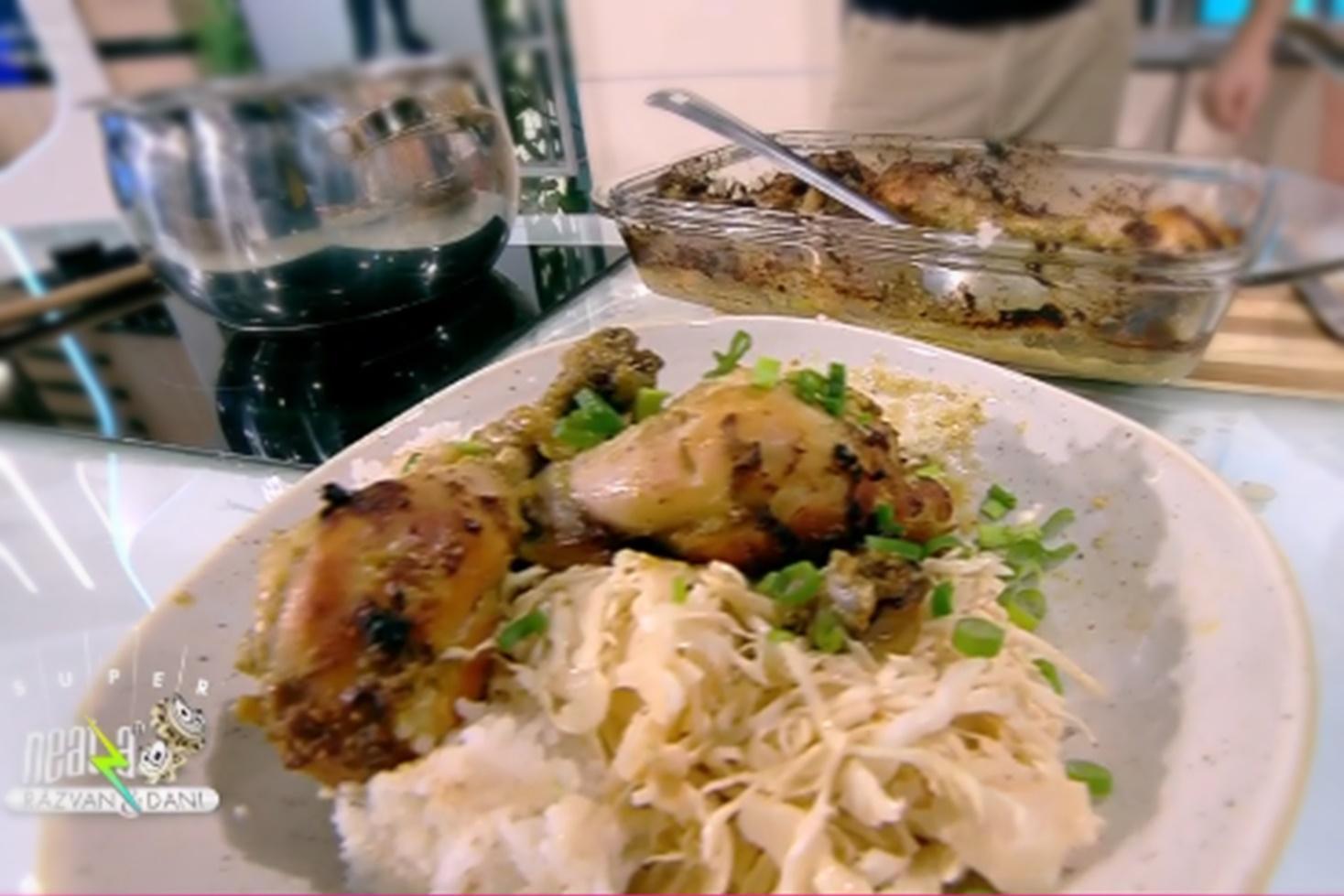 Rețetă de pui în stil jamaican, preparată de chef Nicolai Tand la Neatza cu Răzvan și Dani