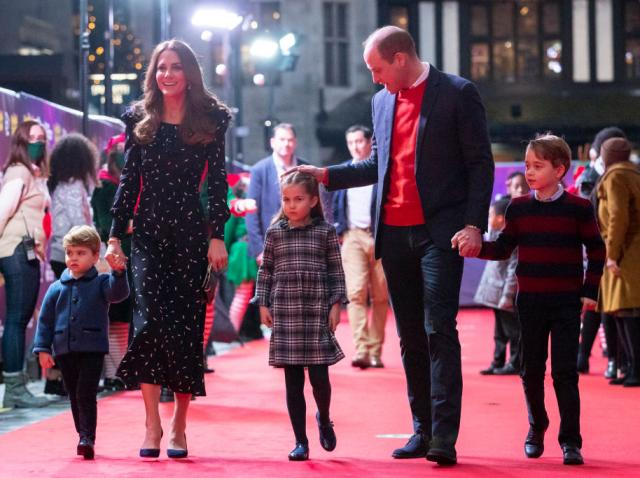 ducii de cambridge si cei 3 copii