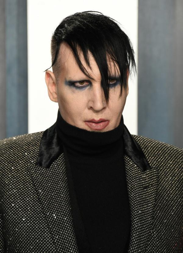 Marilyn Manson, la un eveniment din showbizul american