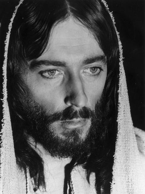 Robert Powell în rolul lui Iisus din Nazaret