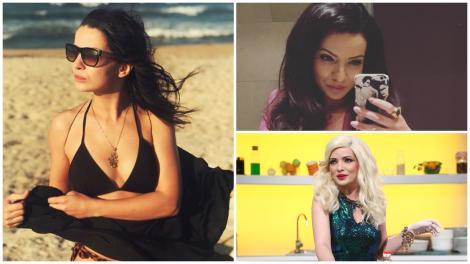 Colaj cu Anca Dinicu la plajă și interpretând-o pe Gina Felea la Chefi la cușite
