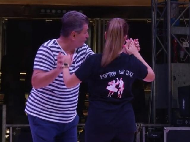 Poftiți la circ, 23 februarie 2021. Nea Marin, enervat la culme la repetițiile de dans. Cum a reacționat i-a uimit pe toți