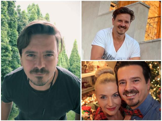 Colaj cu Mihai Petre și soția lui, Elwira Petre