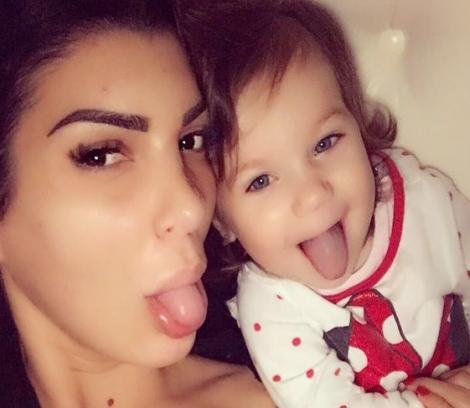 Fiica celebrei Andreea Tonciu are mii de fani și face senzație pe Instagram, la doar patru ani! Cum arată