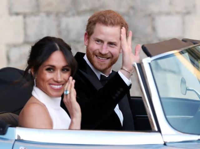 meghan markle si printul harry, ziua nuntii