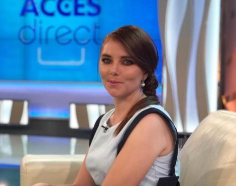 """Vulpița Veronica din Blăgești la emisiunea """"Acces Direct"""""""