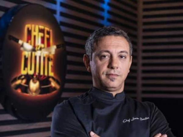 """Sorin Bontea în culisele emisiunii """"Chefi la cuțite"""" sezonul 8"""