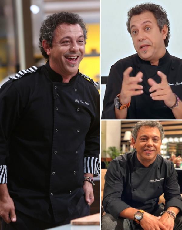 """colaj foto cu Sorin Bontea la """"Chefi la cuțite"""""""