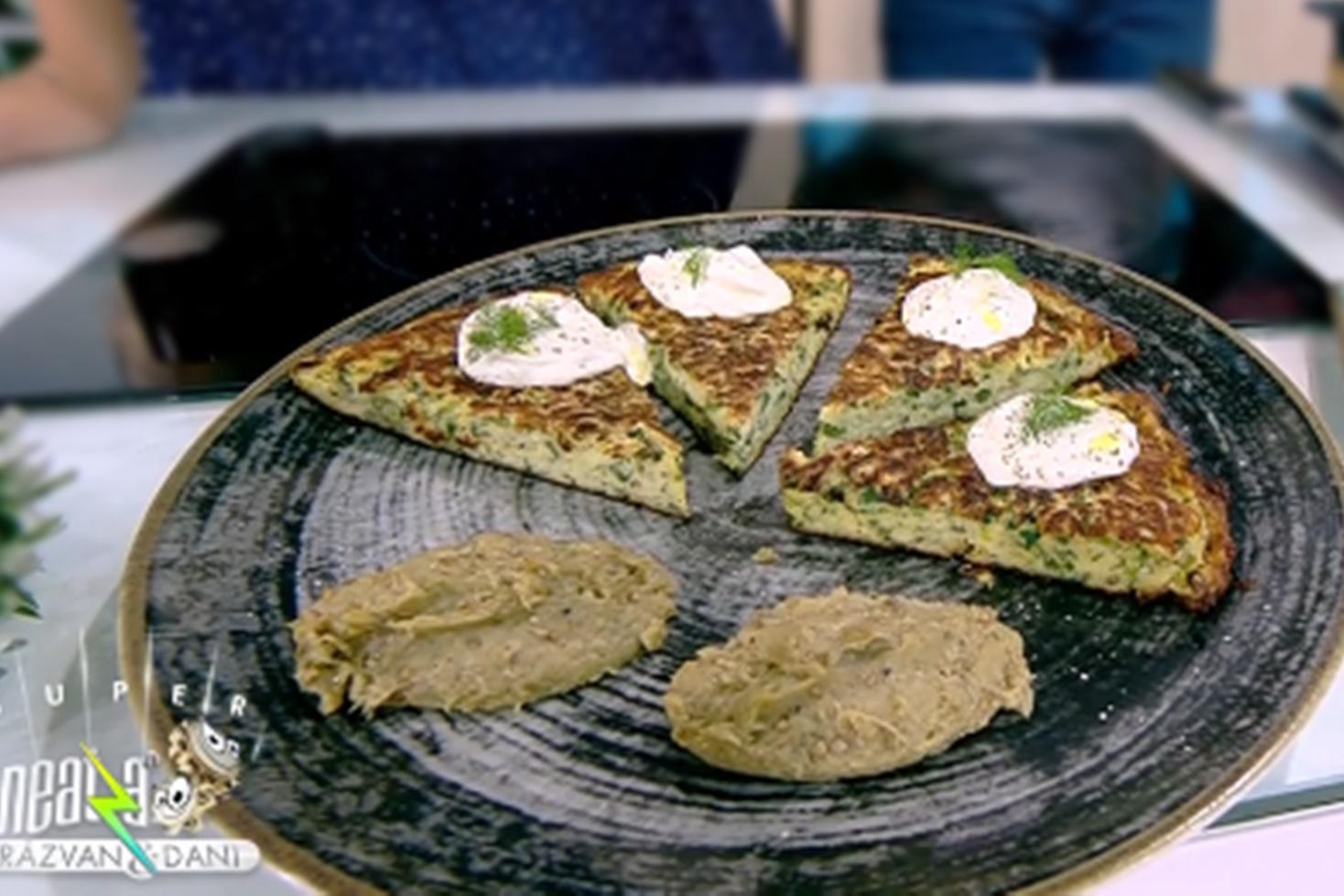 Rețeta celui mai copios mic dejun ardelenesc: Omletă cu cartofi rași, gătită de Cornelia Rednic la Neatza cu Răzvan și Dani