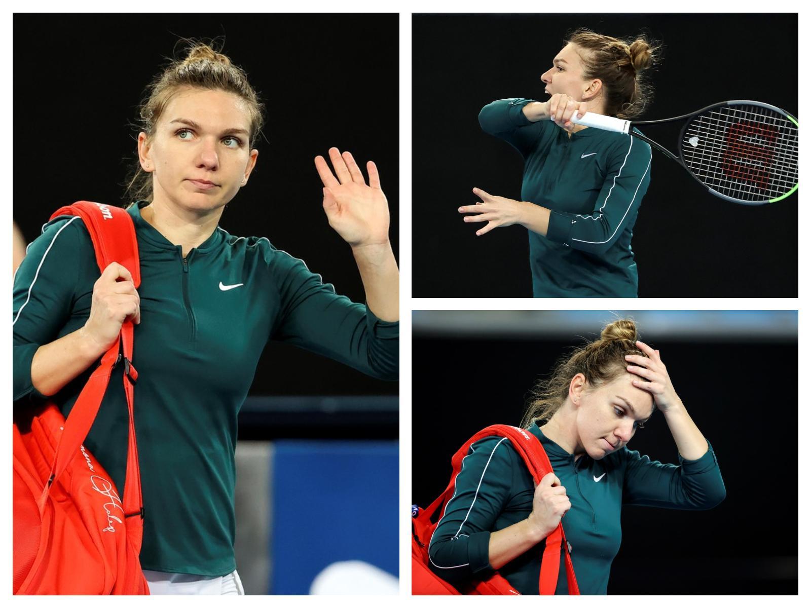 Înfrângere dureroasă pentru Simona Halep înainte de Australian Open 2021. Tenismena româncă a cerut intervenția medicului pe teren