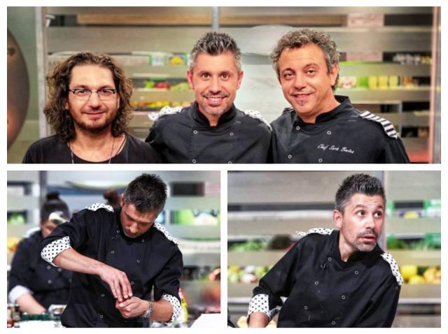 Colaj cu Alberto Chelu și chfii Florin Dumitrescu și Sorin Bontea, la Chefi la cuțite