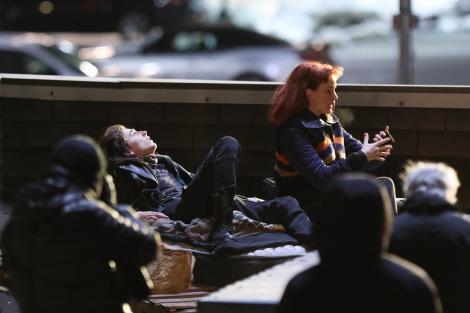 Jennifer Lawrence, pe platourile de filmare de la Don't Look Up, alături de Timothee Chalamet