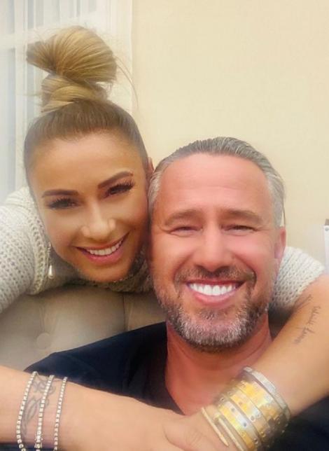 Anamaria Prodan și Laurențiu Reghecampf, selfie postat pe Instagram