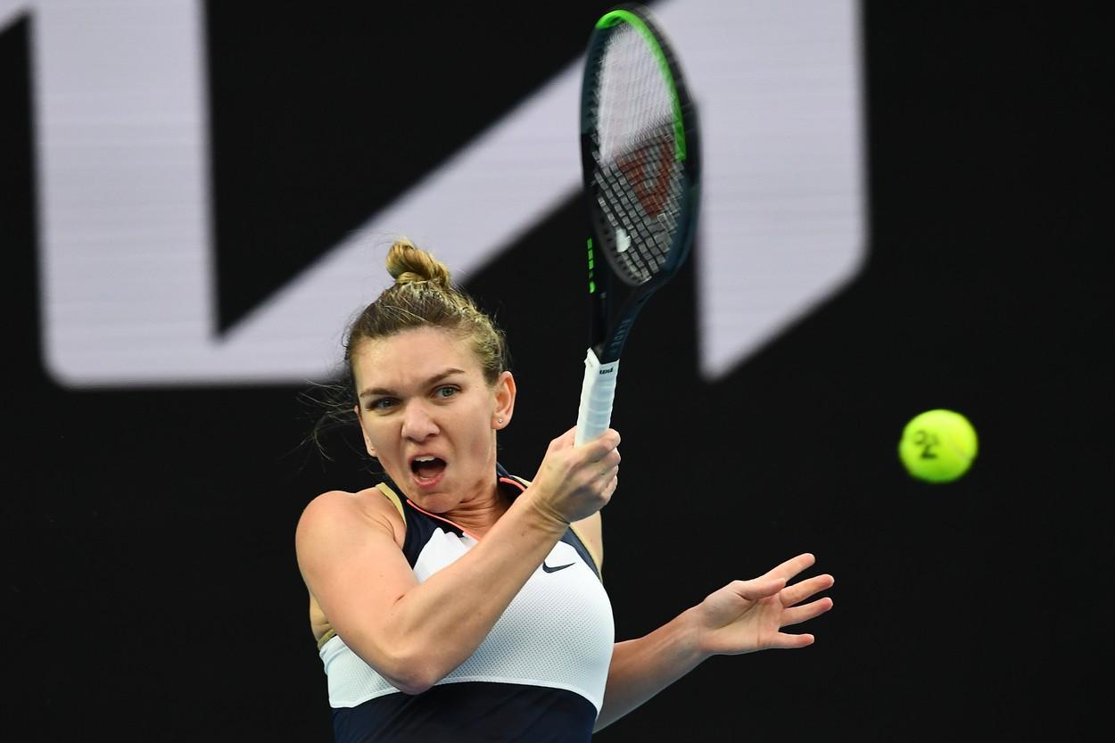 Simona Halep - Lizette Cabrera la Australian Open 2021. Românca s-a impus în 60 de minute cu scorul 6-2, 6-1