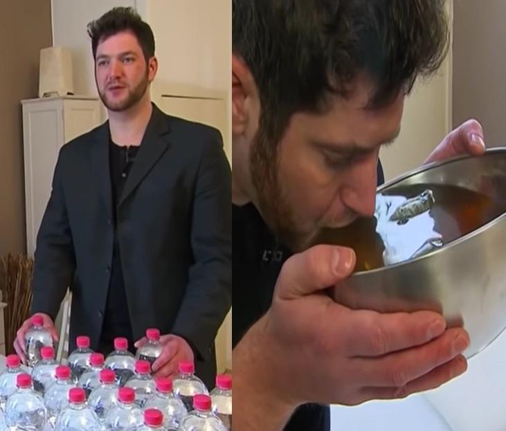 Marc Wübbenhorst trebuie să bea 20 de litri de apă pe zi ca să nu moară! Cum e posibil