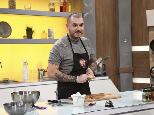 """Radu Bărbieru la """"Chefi la cuțite"""" sezonul 9"""