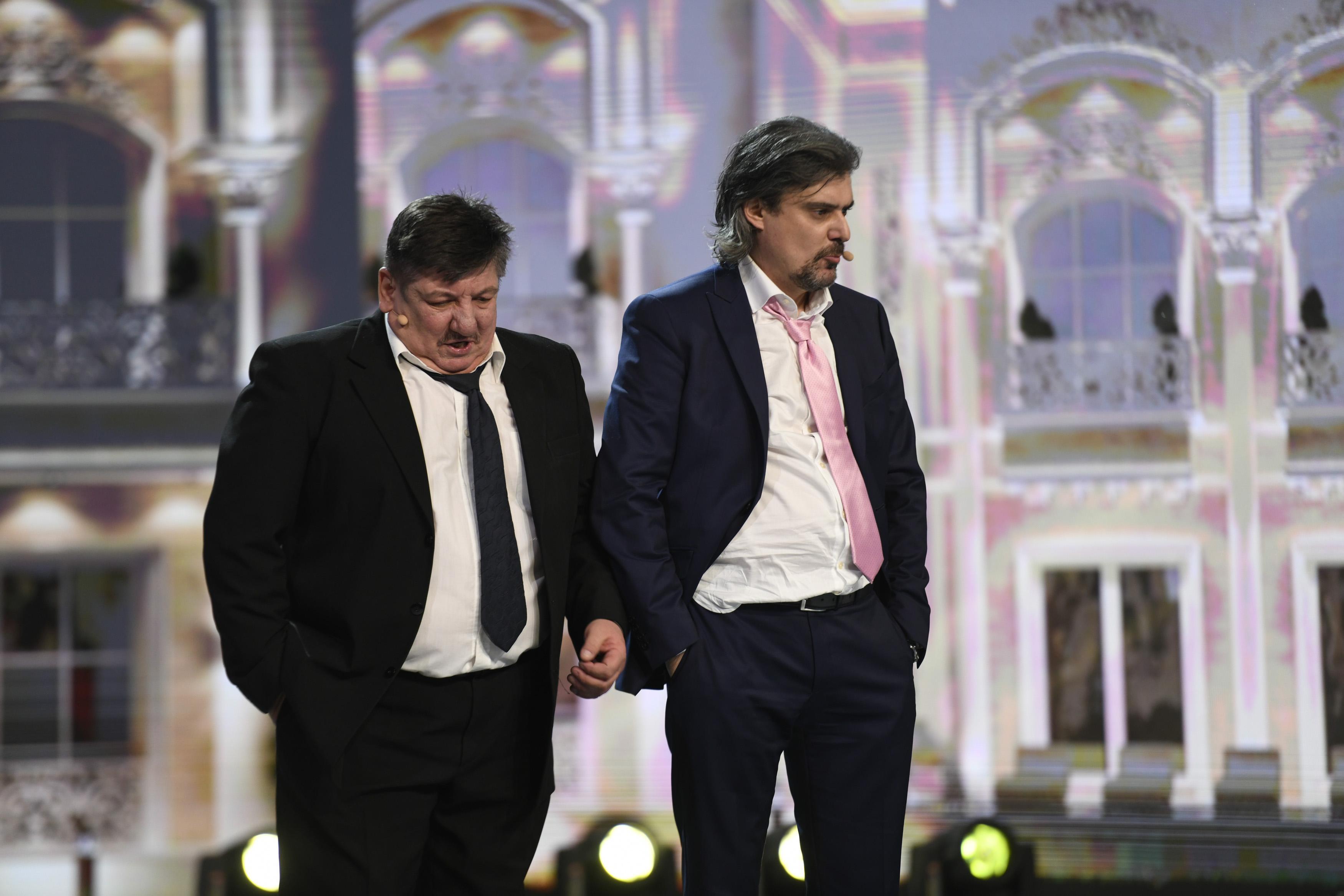 iUmor, 10 martie 2021. Gheorghe Frunză și Sorin Ciofu, sceneta de comedie care a lăsat pe toată lumea cu gura căscată
