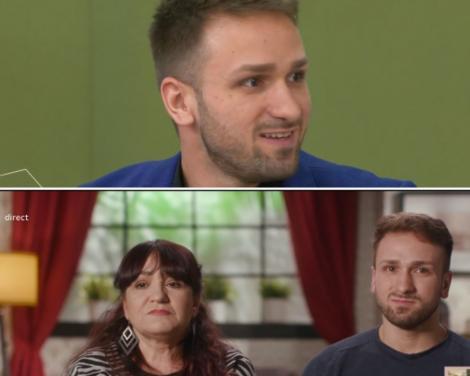 colaj de imagini cu alin si mama daniela de la mireasa sezon 3