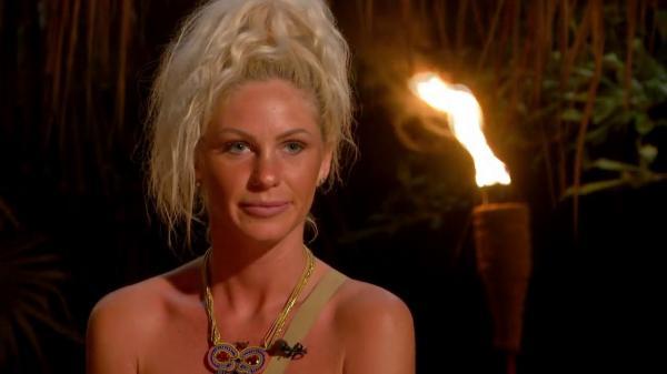 """Hannelore Ulrich în timpul emisiunii """"Insula iubirii"""""""