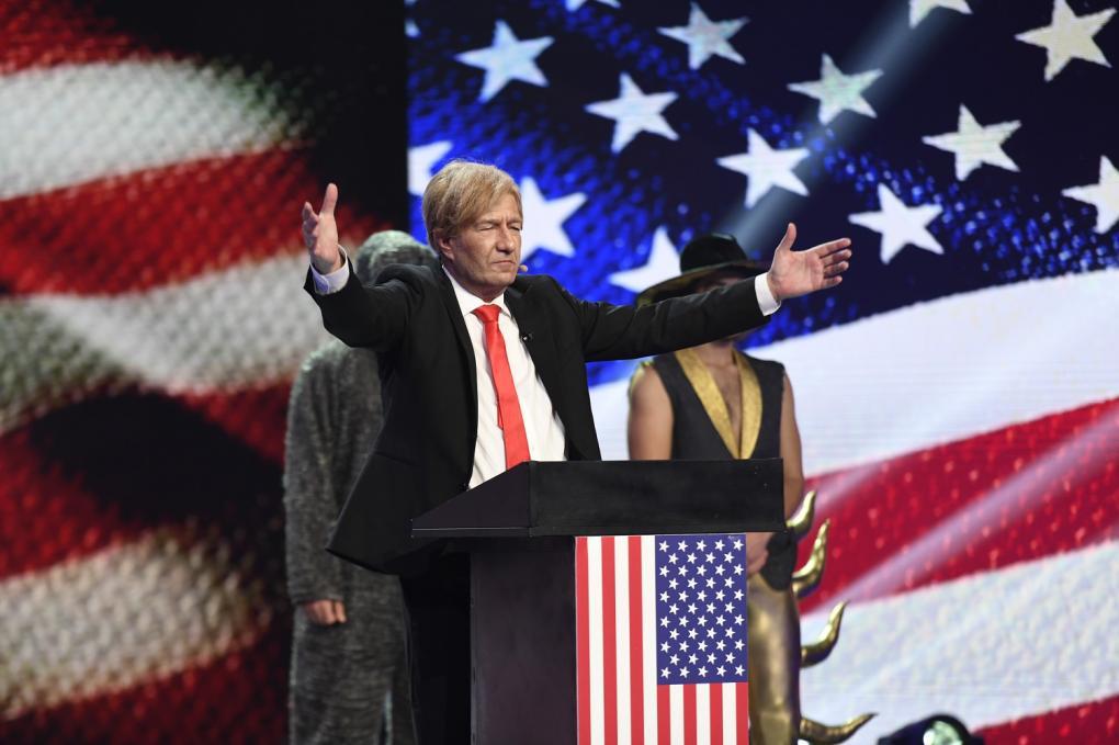 Donald Trump, roast istoric la iUmor