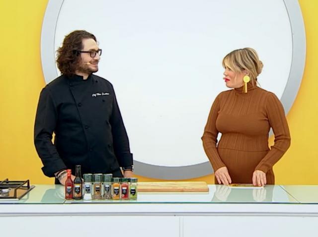 Gina Pistol și Florin Dumitrescu la Chefi la cuțite