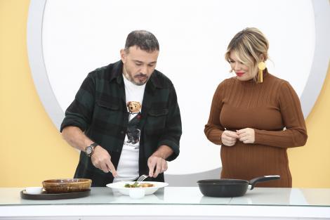 """Chefi la cuțite, 2 martie 2021. Chef Iosif Ștefănescu a anunțat cine a câștigat amuleta 3! """"Sunt tăticul saramurei"""""""