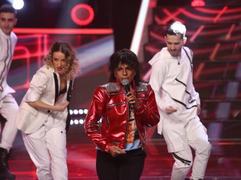 Te cunosc de undeva, 20 martie 2021. Cristina Vasiu, show de proporții mari, transformată în Michael Jackson