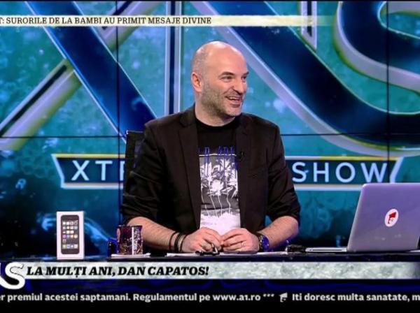 Dan Capatos, în platoul XNS