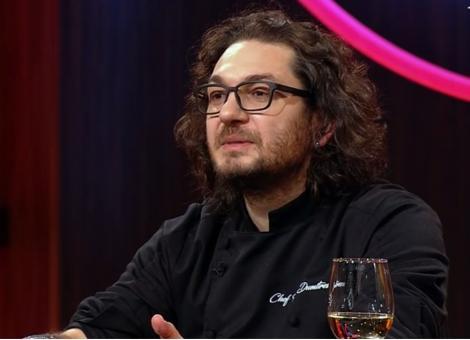 """Florin Dumitrescu, juratul emisiunii """"Chefi la cuțite"""", la masa juriizării"""