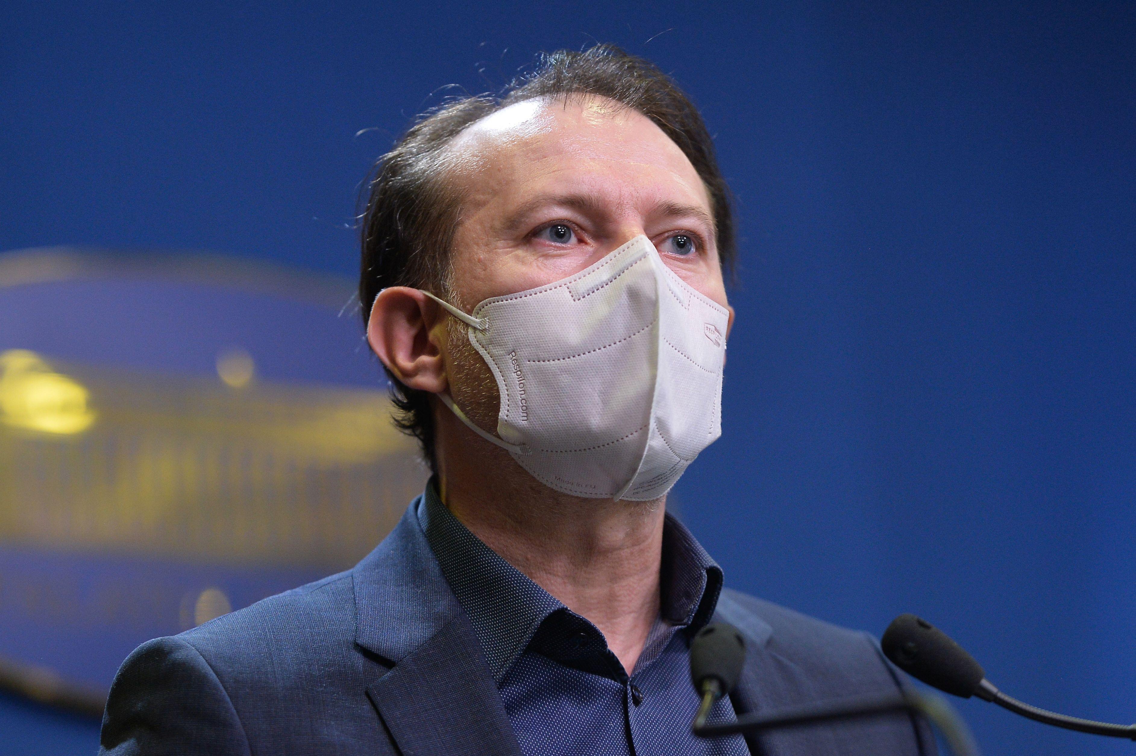 Premierul Florin Cîțu, când am putea reunța la masca de protecție. Condția pe care trebuie să o îndeplinească românii