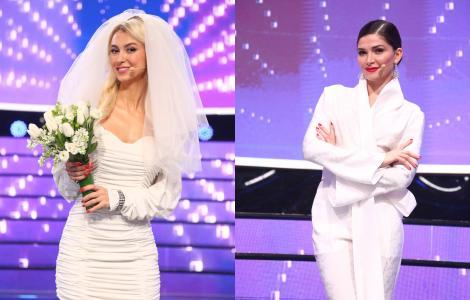 Te cunosc de undeva, 27 martie 2021. Andreea Bălan și Alina Pușcaș, au făcut spectacol cu două ținute impecabile