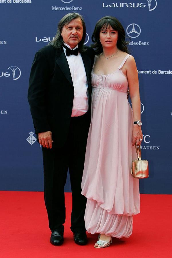 Ilie Năstase, alături de fosta soție Amalia Năstase, pe covorul roșu