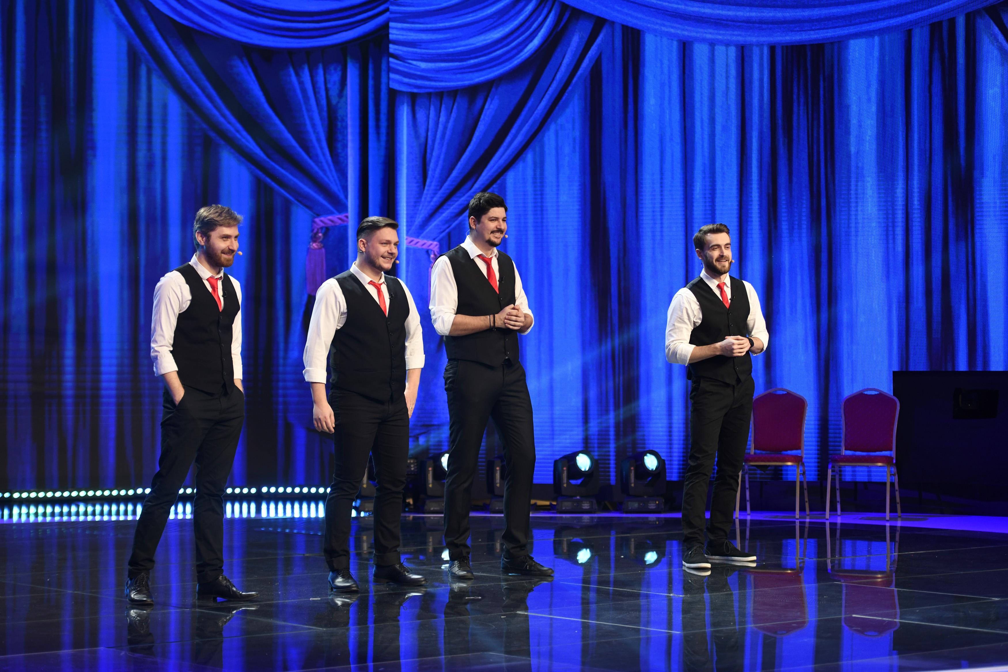iUmor, 31 martie 2021. Backstage Boys, invitații speciali ai ediției, stârnesc hohote de râs cu o scenă de film din Belarus