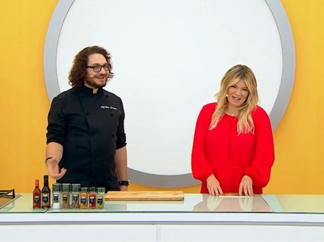 Florin Dumitrescu și Gina Pistol la Chefi la cuțite, sezonul 9