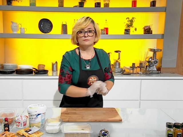 """Alina Bălan în bucătăria emisiunii """"Chefi la cuțite"""", sezonul 9"""