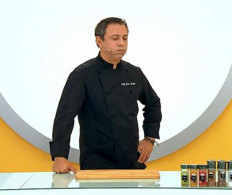 """Sorin Bontea în bucătăria emisiunii """"Chefi la cuțite"""" sezonul 9"""