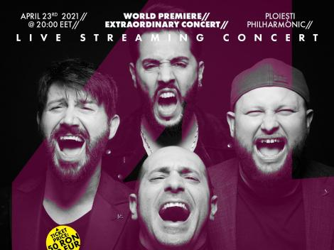 Trupa Super 4 va avea concert la Filarmonica Ploiești. Când vor putea fi văzuți din nou pe scenă îndrăgiții finaliști X Factor